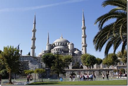 La Mosquée Bleue (Sultanahmet Camii).