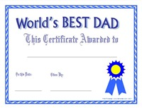 diploma dia del padre en ingles