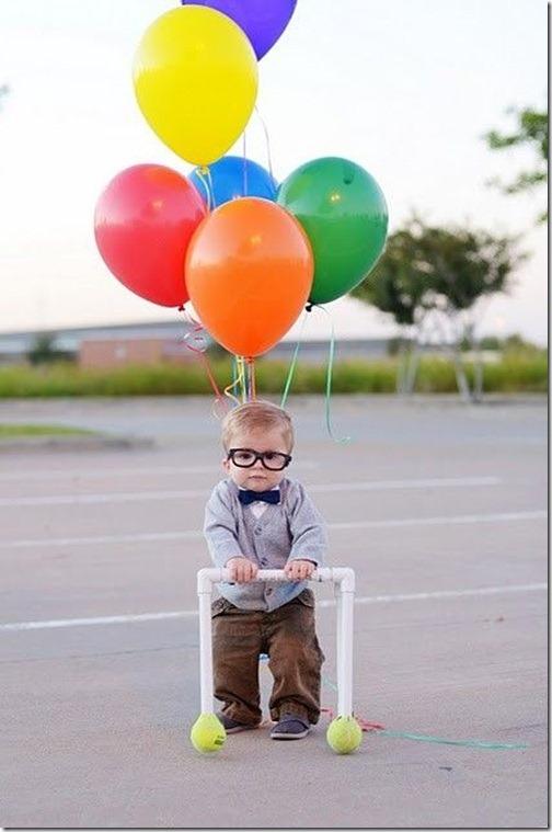 disfraz de vendedor de globos