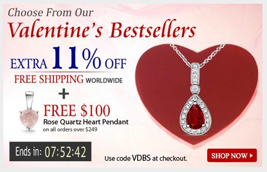 Angara Valentine's Jewelry Offer