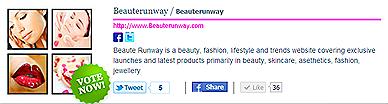 Singapore Blog Awards Adonis Best Beauty Blog