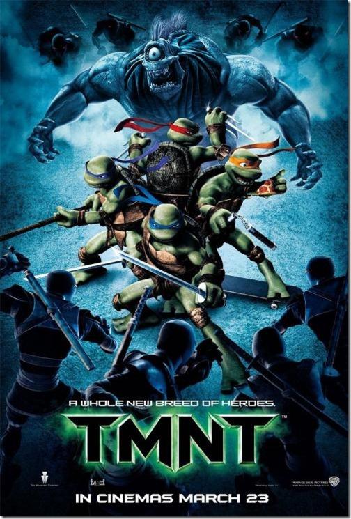 TMNT นินจาเต่า 4 กระดองรวมพลังประจัญบาน [HD Master]