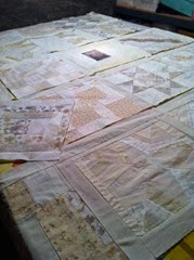 quilt in process 1