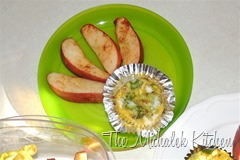 Egg Muffins and Warm Cinn Apples