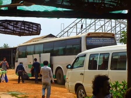 Paramount Angkor Express bus