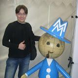 На протяжении 30 лет - до 1990 года маленький человечек с глобусом вместо головы, в голубом костюме, с трубкой во рту и чемоданчиком в руках был символом Лейпцигской ярмарки. Сегодня он снова вернулся в качестве сувенира.