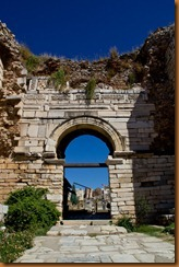 ephesus entry to St John's basilica