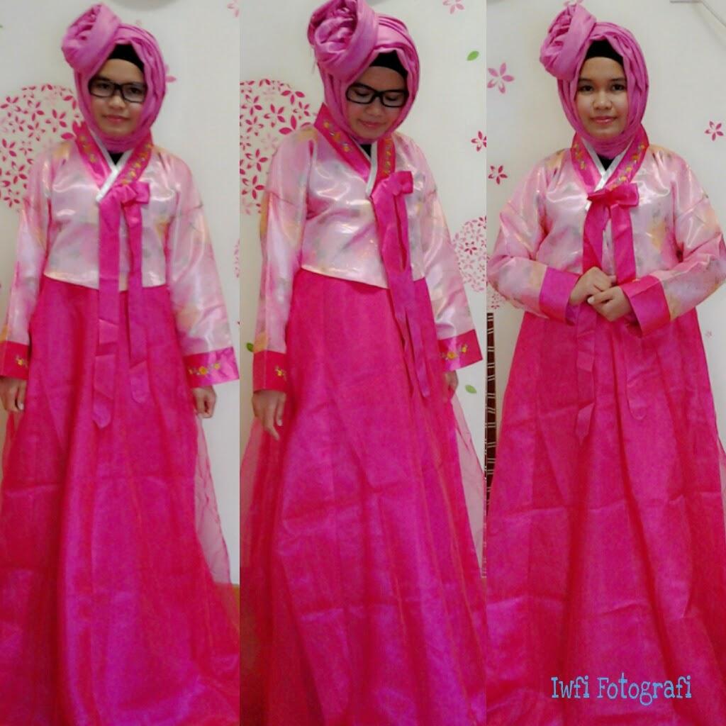 Iwfi Fashion Store Hanbok Korea Traditional Dress In Hijab By Ari Nurfitriana