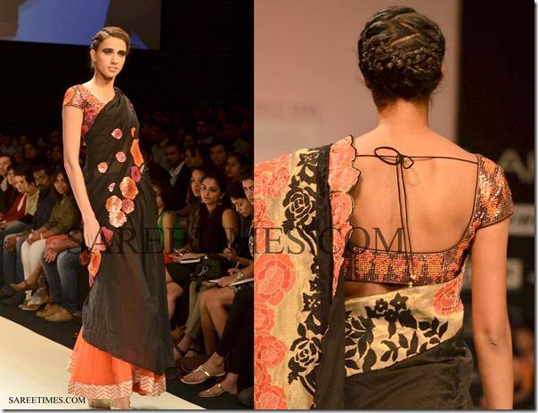 Krishna_Mehta_Black_Designer_Saree