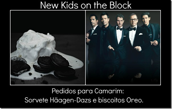 New Kids on the Block pedido