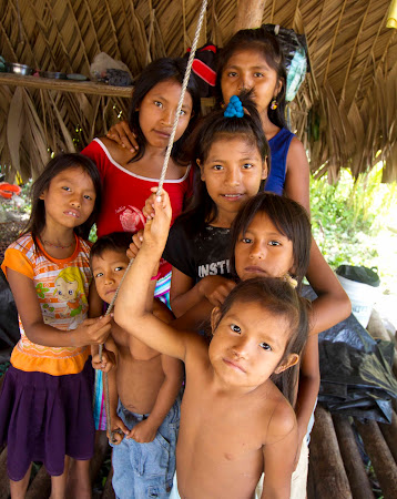 Tribes of South America: Warao people.
