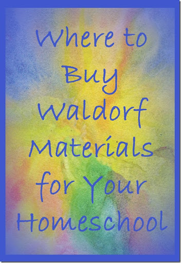 Where to Buy Waldorf Materials for Your Homeschool