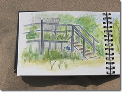 half of sketch