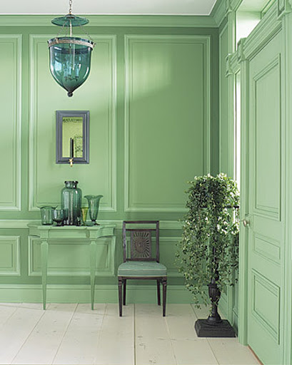 Sometimes pastel can look frilly. This looks sophisticated. (Martha Stewart Living)