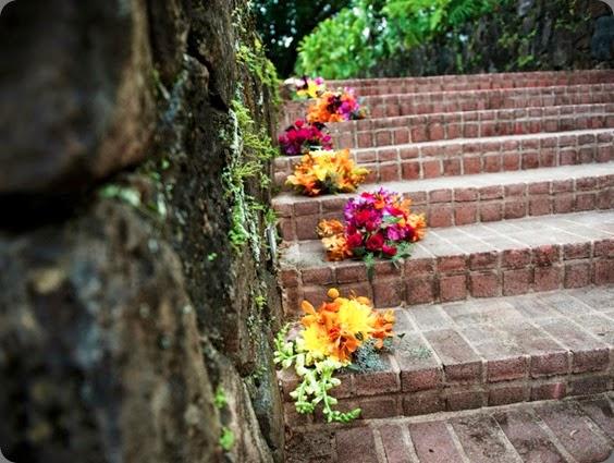 stairs  sweet pea & petunia vibrant rustic-2
