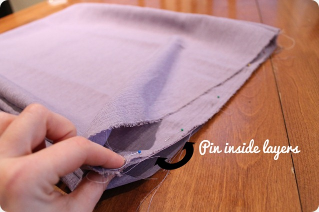 scarf sewing tutorial