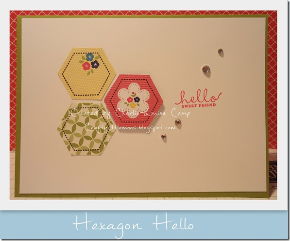 hexagon hello craftylittlemoos