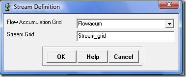 Ventana stream definition