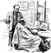 barbeiro e o cliente
