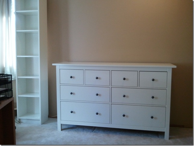 One of two dressers