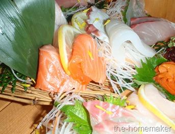 Dinner Sashimi set
