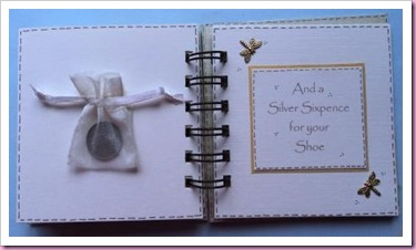 Bind It All Mini Wedding Book for a Bride