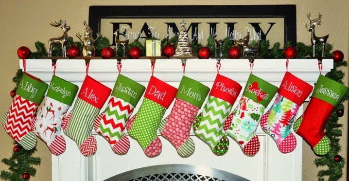 New And Lovely Christmas Stocking Designs