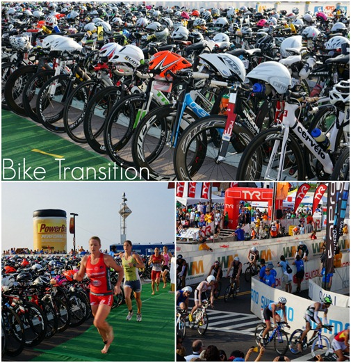 Ironman Bike Transition