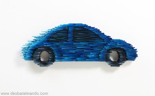 arte com tubos de pvc 3D velocidade desbaratinando  (9)
