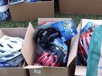 Bicycle helmets from Washington County Public Health