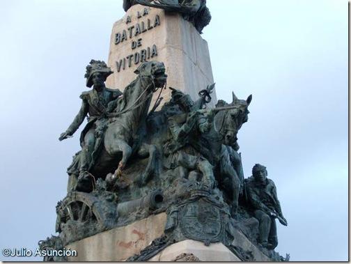 Carga de los aliados - Monumento a la Batalla de Vitoria