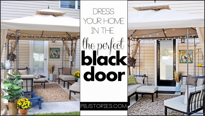 dressing your home in the perfect black door