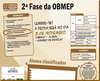 CARTAZ DA OBMEP