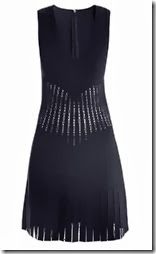 Azzedine Alaia Nymph Perforated Dress