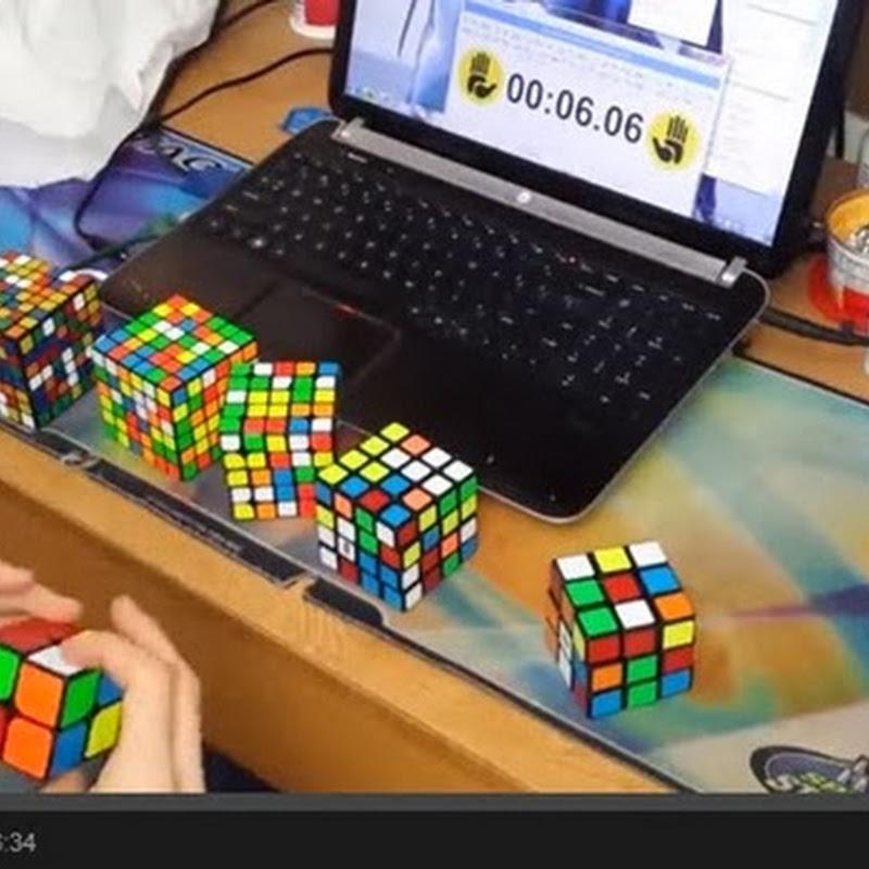 Κύβος του Rubik Παγκόσμιο ρεκόρ 6:23.81
