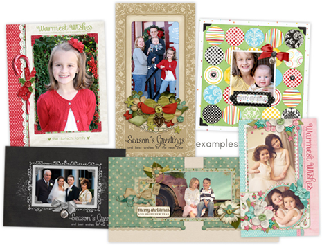 Framed Holiday Portraits