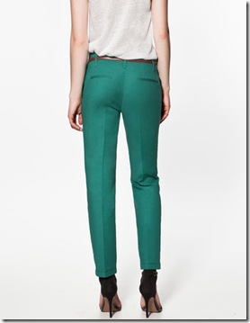 Trousers turn-up hem1