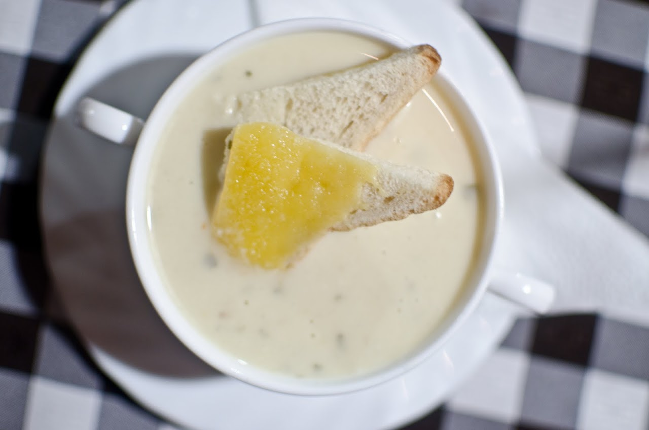 Garic soup at Pozyonsi Kisvendego
