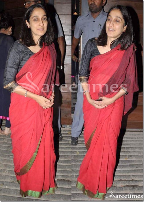Red_Cotton_Saree