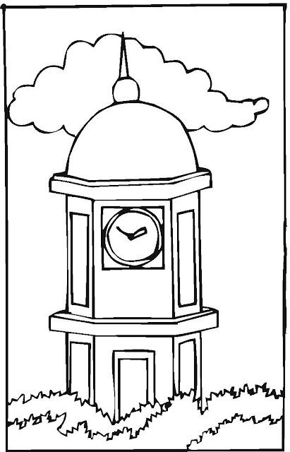 Coloring Clock