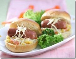 New Mini Sandwich Ragout Sayur Sosis