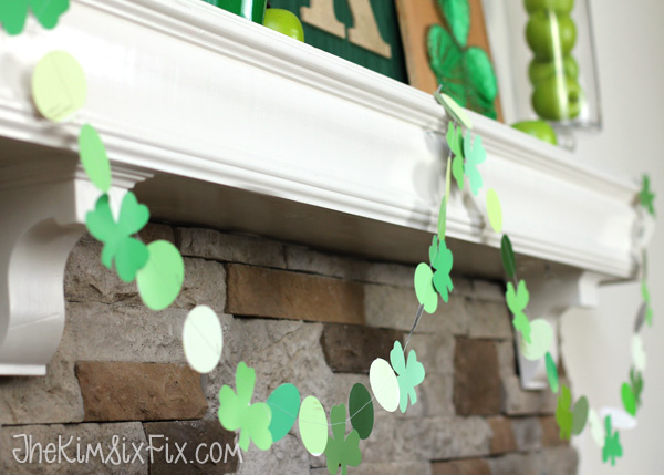 St Patricks Paint Chip Garland