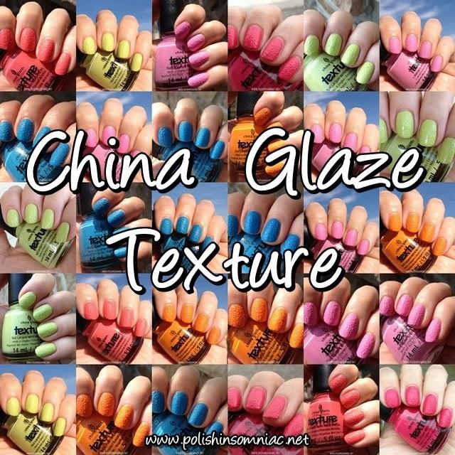 China Glaze Texture