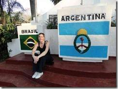Meg into Brazil