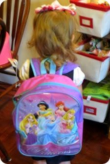 Elaine's First Day of Kindergarten