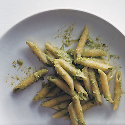 Penne with Pea Pesto