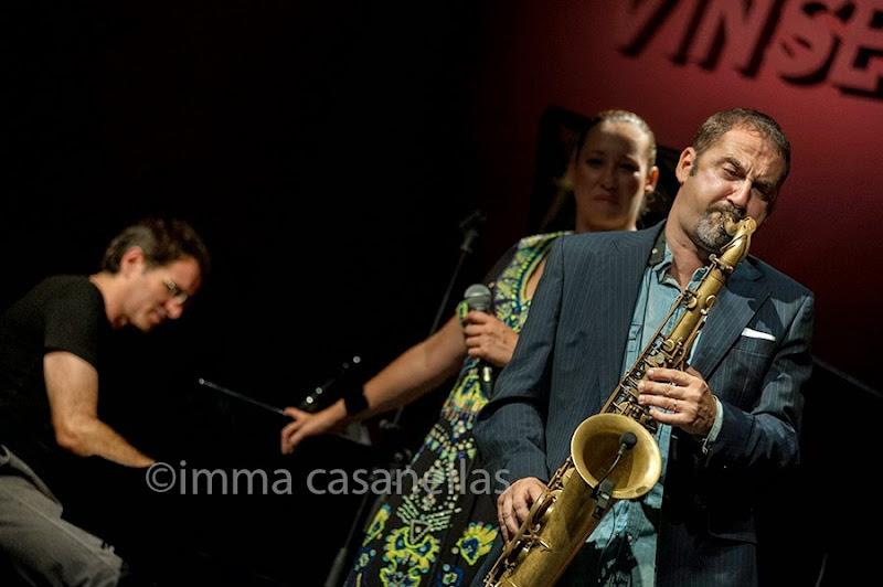 Toni Solà amb Susana Sheiman i Xavi Algans, Vilafranca 2014
