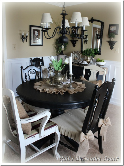 Gail S Decorative Touch Dining Room And Salvation Army Silver