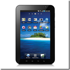 Samsung Galaxy Tablet Pc