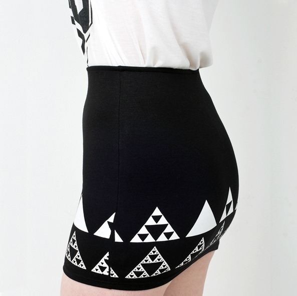 Triforce Skirt from Closet Creeper